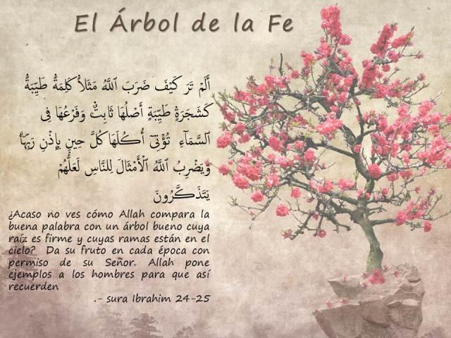 el arbol de la fe