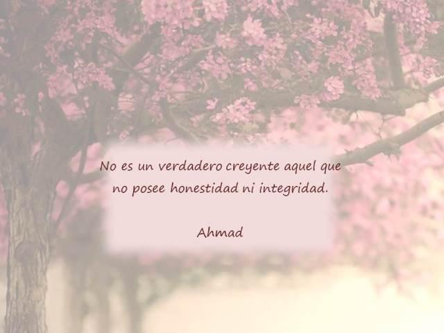 hadith de ahmad