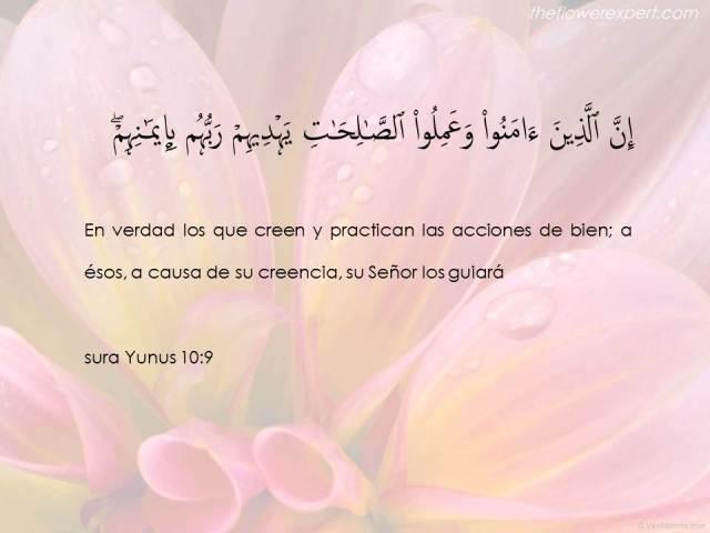 sura yunus verso 9