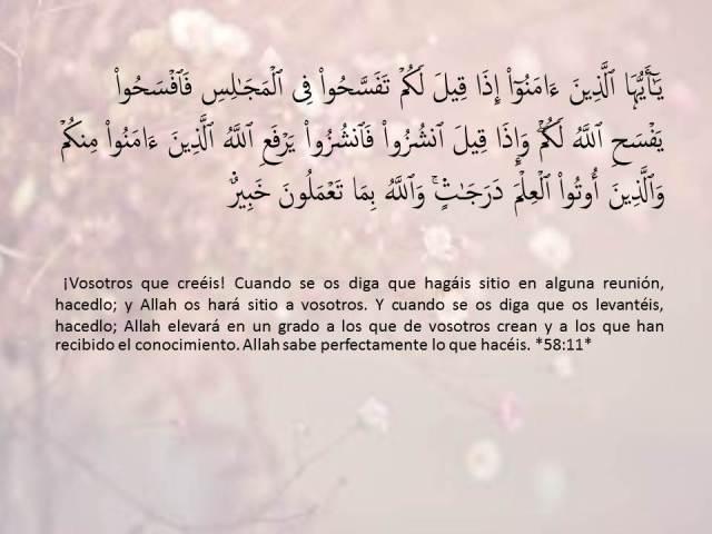 sura al mujadila  11